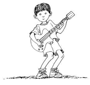 Rock out like a guitar hero!