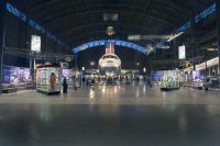 The museum displays thousands of aviation and space travel artifacts.
