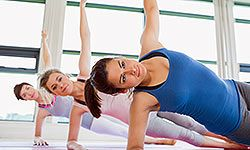 Yoga can help tone and tighten your core.