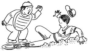 Slide into a home plate of china!