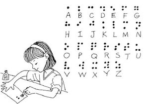 This braille note craft is fun and easy to do.