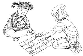 Write down descriptive words of each family member and friend.