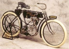 Only 16 of the 1905 Harley-Davidson models were built.