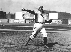 Cy Young's ERA was 1.26 in 1908. See more baseball seasons pictures.
