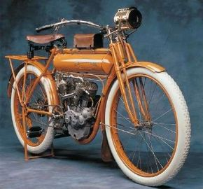 Despite innovative models such as the 1911 Flying Merkel, the Merkel company would be out of business by 1916. See more motorcycle pictures.