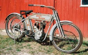 The 1912 Harley-Davidson X8A addressed the riding public's increasing thirst for more power in its motorcycles. See more motorcycle pictures.