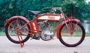 Sears amd Robuck sold these early one- and two-cylinder motorcycles between 1912 and 1916.
