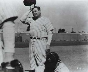 The great Babe Ruth broke record after record during the 1920 baseball season, his first with the Yankees. See more baseball seasons pictures.
