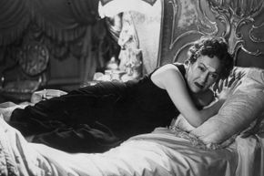 """In the film """"Sunset Boulevard,"""" Gloria Swanson played Norma Desmond, a washed-up actress who lamented the shift from silent films to talkies."""