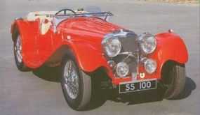 1939 marked the last full year SS Jaguar 100s were available.