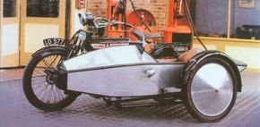 Typical of Swallow production in the early 1920s was the Model 4 Supersports.