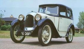 The Swallow name was added to the cars bodied by the firm. This Austin-Swallow dates from 1931.