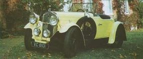 Swallow bodies also graced cars such as this roadster on a 1932 Wolseley Hornet chassis.