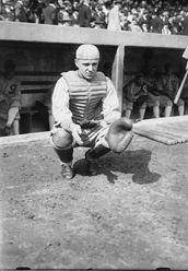 White Sox Ray Schalk was a top American League catcher in the 1922 baseball season.