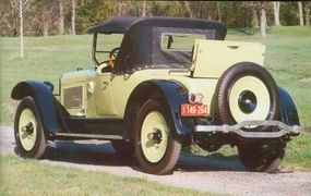 The Sainte Claire roadster had the first backup light.