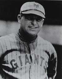 During the 1923 baseball season, Ross Youngs scored a league-high 121 runs.