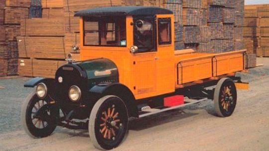 1925 Brockway E-3000 Pickup