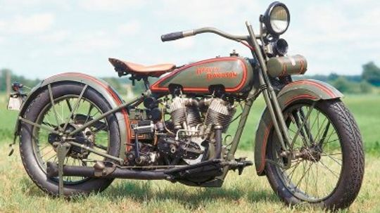 1925 Harley-Davidson JD