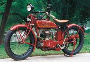 The 1926 Indian Prince was designed for first-time