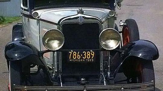 1929 Chevrolet International AC Coupe