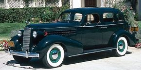 The competitively priced 1936 Cadillac Series 60 sedan, with its cast-iron L-head engine, was an impressive seller.