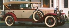 The Series 40 four-door sedan was Buick's best-selling car of 1930. See more classic car pictures.