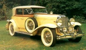 The 1930 Duesenberg Torpedo Convertible Berline was one of the most powerful production cars of its time. See more classic car pictures.