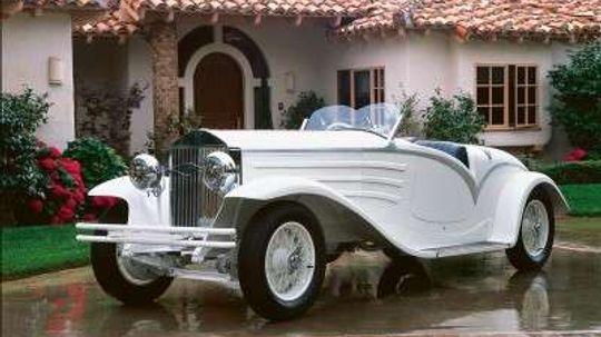 1930 Isotta Fraschini 8A Flying Star Roadster
