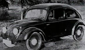 After being courted by Adolf Hitler to design a small affordable car for the masses, Porsche produced the Volkswagen V3 concept in 1935.