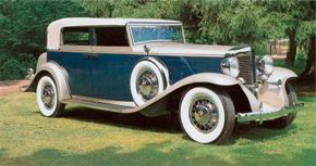 The Marmon Sixteen rode a 145-inch wheelbase, three inches shorter than Cadillac's. And due to extensive use of aluminum, the Marmon weighed about 500 pounds less. See more classic car pictures.