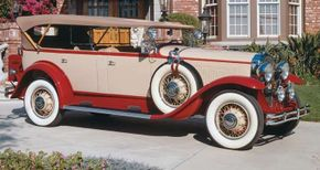Pictured is a restored 1931 Buick 95 phaeton. See more pictures of Buick cars.