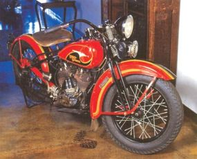 Harley-Davidsons such as the Model D were designed to compete with successful offerings from rival Indian.