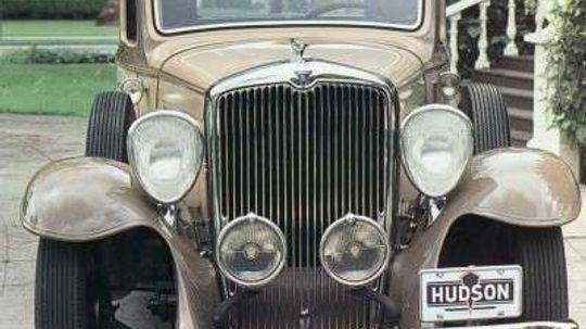 1932 Hudson Greater Eight Standard Special Coupe