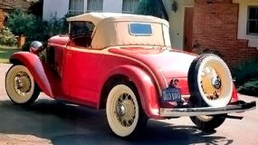The 1932 Plymouth PB cost between $495 and $785.