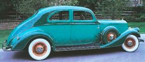 Pierce-Arrow attempted to extend the 1933 Silver Arrow's cachet to its regular line in 1934, but on a coupe.