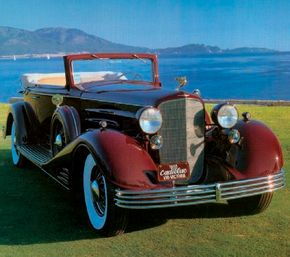The 1933 Cadillac V-16 Convertible Victoria was a shining beacon of luxury despite the Depression. See more classic car pictures.