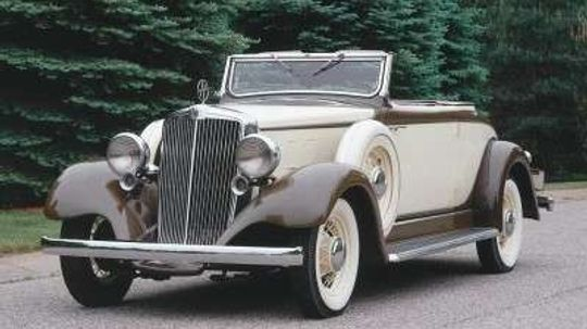 1933 Hupmobile K-321 Convertible Coupe