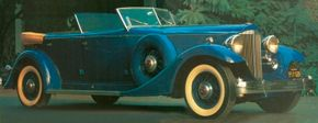 Only three 1933 Packard Twelve Sport Phaetons were built, each for auto shows held that year.