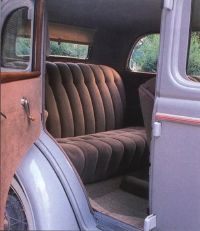 This DeLuxe Fordor was restored in the early 1980s.