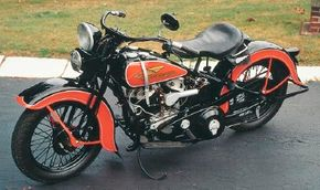 The 1934 Harley-Davidson VLD was one of the products that kept Harley afloat during the Great Depression. See more motorcycle pictures.