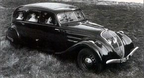 The 1935 Peugeot 402 Familiale was on a wheelbase. See more pictures of classic cars.