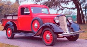 The 1935 Dodge KC half-ton pickup was one of the most successful Dodge trucks of the 1930s. See more classic truck pictures.