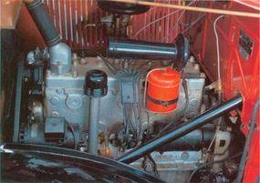A reliable 201.3-cid six powered the popular 1935 Dodge KC half-ton pickup.