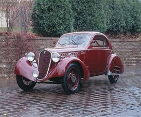 This 1935 Fiat 508 S MM coupe was built for racing. See more pictures of classic cars.