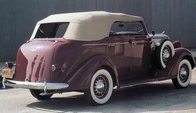 This convertible sedan was one of only 750 cars made.