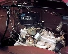 The six-cylinder engine produced 87 bhp.
