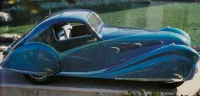 The 1936 Delahaye 135 Competition Coupe was a French-made six-cylinder car. See more classic car pictures.