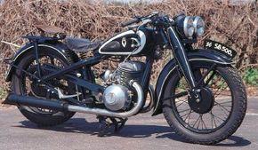 The 1936 DKW SB 500 A had a rigid rear frame.