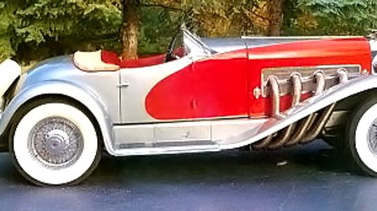 1936 Duesenberg SSJ Speedster
