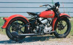 """The engine of the EL earned the nickname """"Knucklehead,"""" which was inspired by the shape of its rocker-cover caps."""